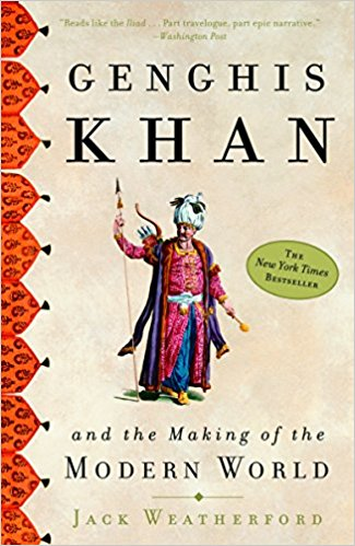 Couverture du livre 'Genghis Khan and the Making of the Modern World'