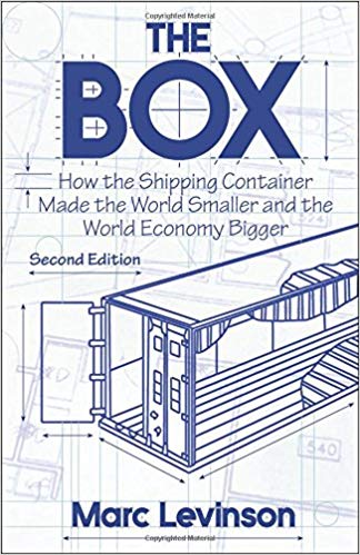 Couverture du livre 'The Box: How the Shipping Container Made the World Smaller and the World Economy Bigger'